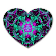 Pattern Heart Mousepads by gasi