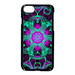 Pattern Apple Iphone 8 Seamless Case (black) by gasi