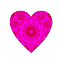 Pattern Heart Magnet by gasi