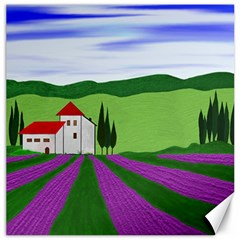 Lavender Canvas 12  X 12   by gasi
