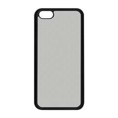 Grey And White Simulated Carbon Fiber Apple Iphone 5c Seamless Case (black) by PodArtist