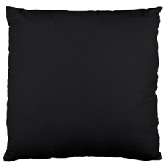 Simulated Black Carbon Fiber Steel Large Cushion Case (two Sides) by PodArtist