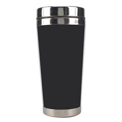 Simulated Black Carbon Fiber Steel Stainless Steel Travel Tumblers by PodArtist
