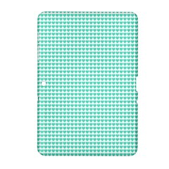 Tiffany Aqua Blue Candy Hearts On White Samsung Galaxy Tab 2 (10 1 ) P5100 Hardshell Case  by PodArtist