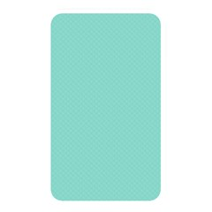 Tiffany Aqua Blue Puffy Quilted Pattern Memory Card Reader by PodArtist