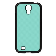 Tiffany Aqua Blue Puffy Quilted Pattern Samsung Galaxy S4 I9500/ I9505 Case (black) by PodArtist
