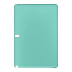 Tiffany Aqua Blue Puffy Quilted Pattern Samsung Galaxy Tab Pro 12 2 Hardshell Case by PodArtist