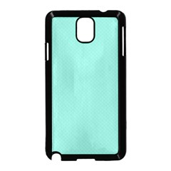 Tiffany Aqua Blue Puffy Quilted Pattern Samsung Galaxy Note 3 Neo Hardshell Case (black) by PodArtist