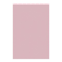 Baby Pink Stitched And Quilted Pattern Shower Curtain 48  X 72  (small)  by PodArtist