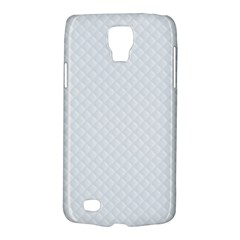 Bright White Stitched And Quilted Pattern Galaxy S4 Active by PodArtist