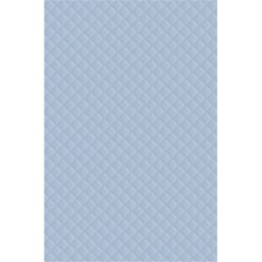 Powder Blue Stitched And Quilted Pattern 5 5  X 8 5  Notebooks by PodArtist