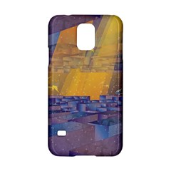 Up Down City Samsung Galaxy S5 Hardshell Case  by berwies