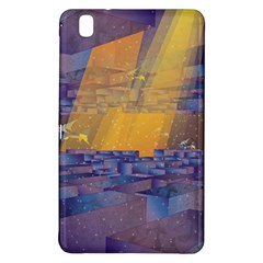 Up Down City Samsung Galaxy Tab Pro 8 4 Hardshell Case by berwies