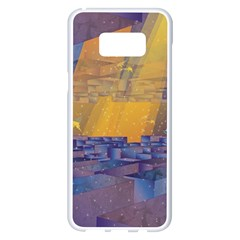 Up Down City Samsung Galaxy S8 Plus White Seamless Case
