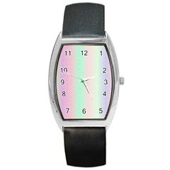 Pattern Barrel Style Metal Watch by gasi
