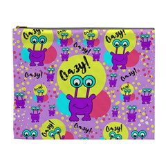 Crazy Cosmetic Bag (xl) by gasi