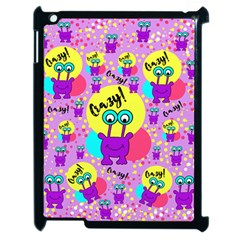 Crazy Apple Ipad 2 Case (black) by gasi