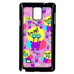Crazy Samsung Galaxy Note 4 Case (black) by gasi