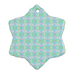 Pattern Snowflake Ornament (two Sides) by gasi