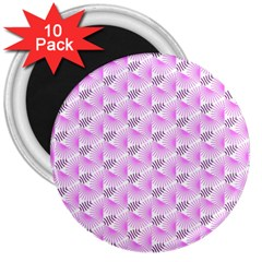 Pattern 3  Magnets (10 Pack)  by gasi