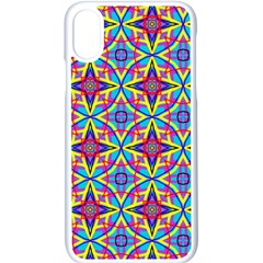 Pattern Apple Iphone X Seamless Case (white) by gasi