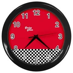 Racing Team Wall Clocks (black) by gasi