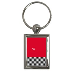 Racing Team Key Chains (rectangle)  by gasi