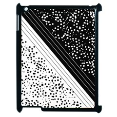 Pattern Apple Ipad 2 Case (black) by gasi