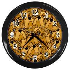 Bulldogge Wall Clocks (black) by gasi