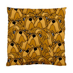 Bulldogge Standard Cushion Case (one Side) by gasi