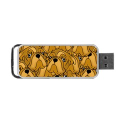 Bulldogge Portable Usb Flash (one Side) by gasi