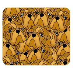 Bulldogge Double Sided Flano Blanket (small)  by gasi