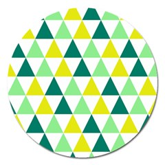 Pattern Magnet 5  (round) by gasi