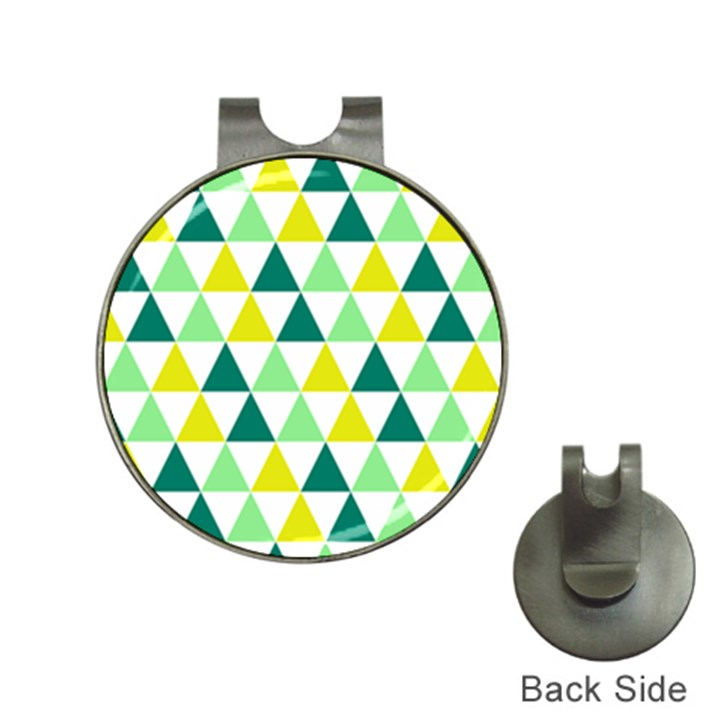 Pattern Hat Clips with Golf Markers