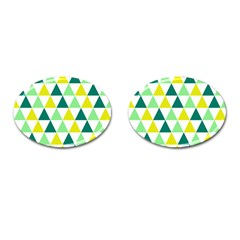 Pattern Cufflinks (oval) by gasi
