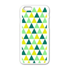 Pattern Apple Iphone 6/6s White Enamel Case by gasi