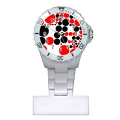 Pattern Plastic Nurses Watch by gasi