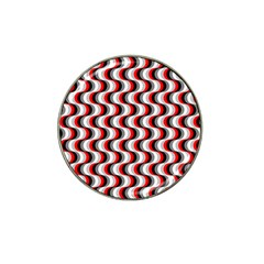 Pattern Hat Clip Ball Marker (4 Pack) by gasi
