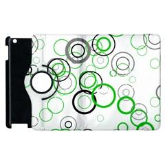 Pattern Apple Ipad 2 Flip 360 Case by gasi
