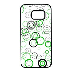 Pattern Samsung Galaxy S7 Black Seamless Case by gasi