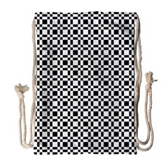 Pattern Drawstring Bag (large) by gasi