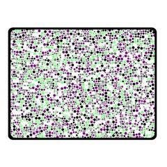 Pattern Double Sided Fleece Blanket (small)  by gasi