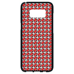 Pattern Samsung Galaxy S8 Black Seamless Case by gasi