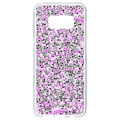 Pattern Samsung Galaxy S8 White Seamless Case by gasi