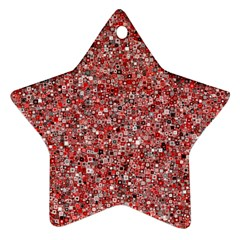 Pattern Star Ornament (two Sides) by gasi