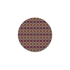 Native American Pattern 4 Golf Ball Marker (10 Pack) by Cveti