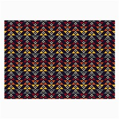 Native American Pattern Large Glasses Cloth (2 Side) by Cveti