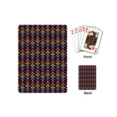 Native American Pattern Playing Cards (mini)  by Cveti