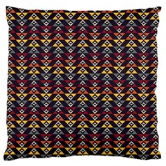 Native American Pattern Large Cushion Case (two Sides) by Cveti