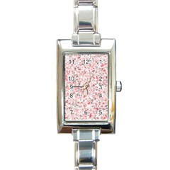 Pattern Rectangle Italian Charm Watch by gasi